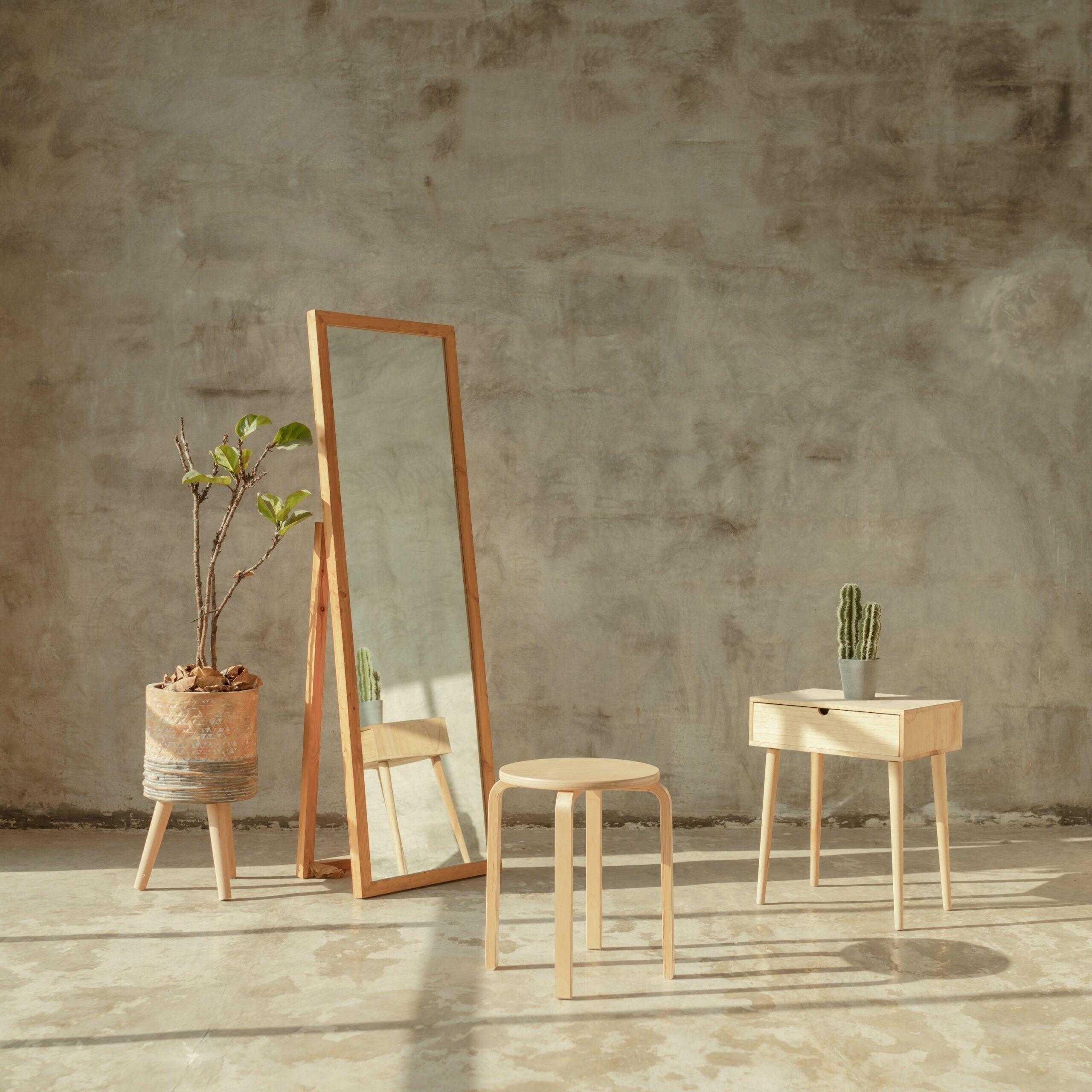 organic table set
