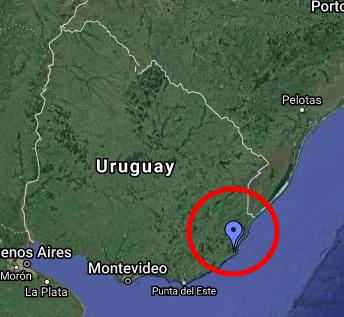 Cabo Polonio Google Maps
